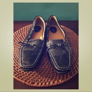 Clark's patent leather loafer size 9.5